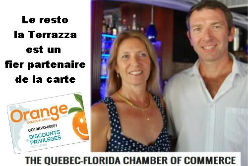 Lancement de la carte orange p 2 destination soleil for Chambre de commerce quebec floride